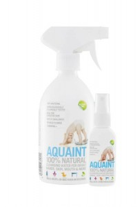 Aquaint comes in two sized bottles; 500ml and 50ml.