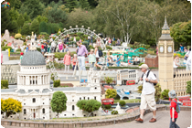 Miniland at Legoland Windsor.