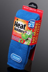 Heat Holders socks. Very warm, but not to be confused with lingerie.