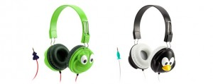 Kazoo headphones for children from Griffin Technology. Great for occasional use.