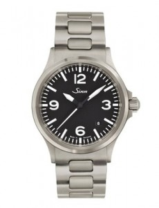 The Sinn Watches 556 A. Stylish and practical.