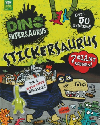 Review: Dino Supersaurus book range