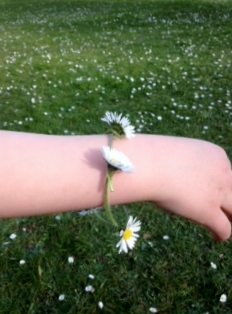 #MySundayPhoto, my sSunday Photo, #SilentSunday, daisy chains, daisies, flowers, dads, fathers, dad, parenting, relationships, park