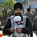 In praise of the baby carrier