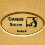 Baby change in men's lavatories please!