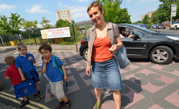 Sustrans, SafeToSchool, #SafeToSchool, Campaign for Safer Streets