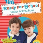 Topsy and Tim, review, children's books, sticker books