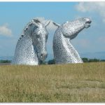 My Sunday Photo, 3/8/14. The Falkirk Kelpies