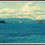 Oban harbour, My Sunday Photo, 31 August 2014