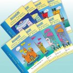 Review; Everybody Learns reading and writing workbooks