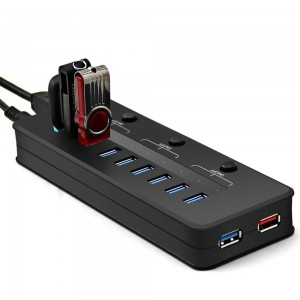 Eteckcity, multi port hub, USB, USB 3.0