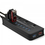 Review; Etekcity USB 3.0 10-port hub