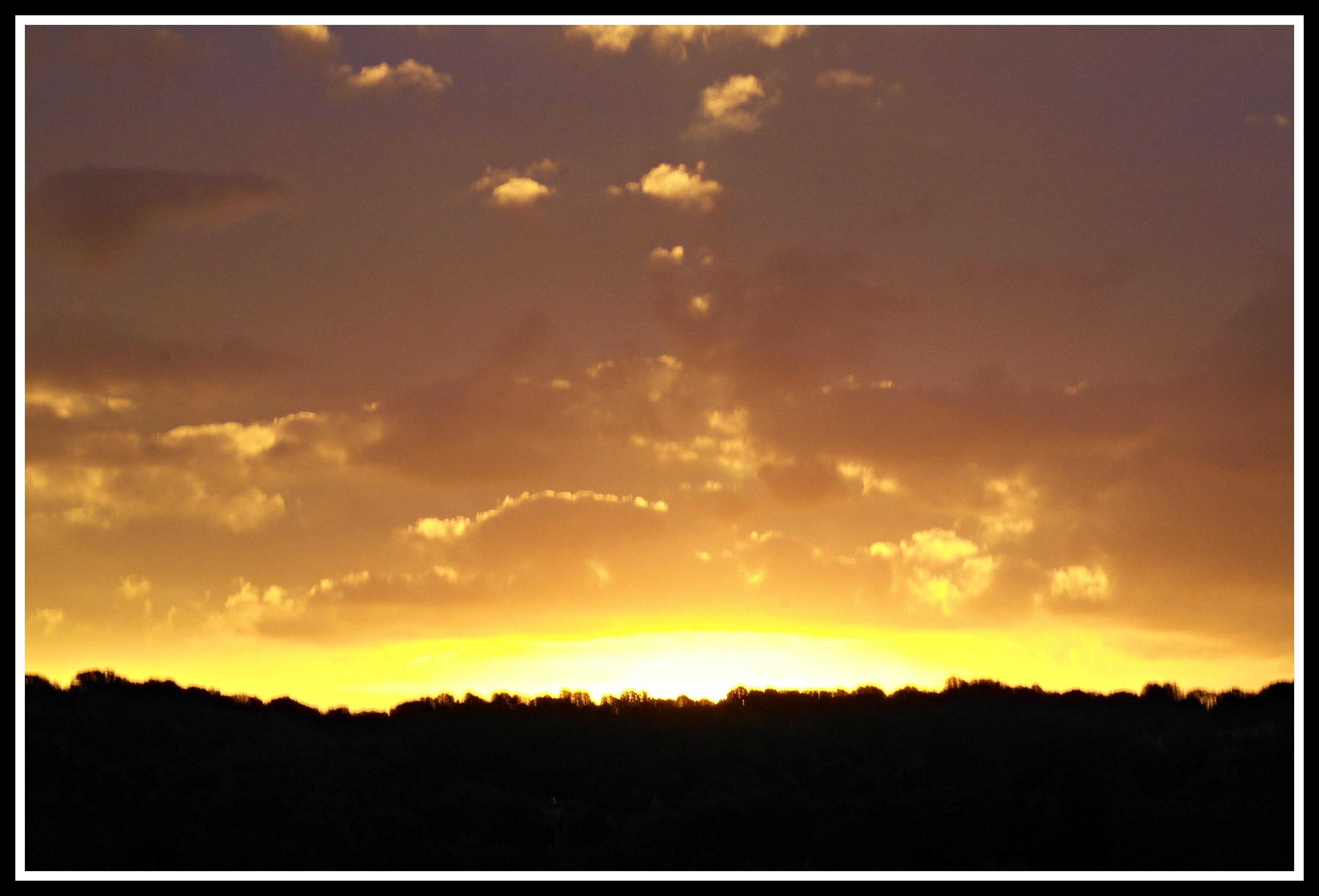 Sunrise – My Sunday Photo 12/10/2014