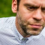 Men's style; the pin collar shirt
