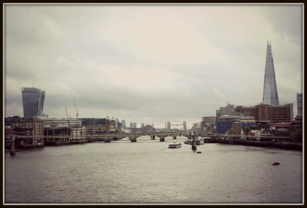 London, London Blackfriars, the Shard, Canary Wharf, Tower Bridge