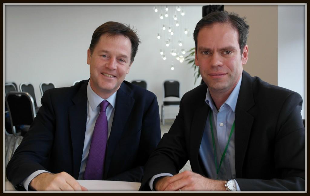Nick Clegg, parental leave, Deloitte, deputy prime minister