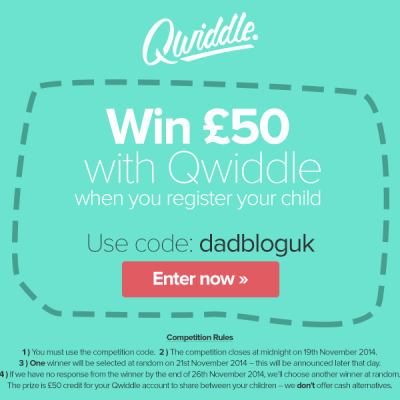 £50 giveaway with online piggy bank Qwiddle!