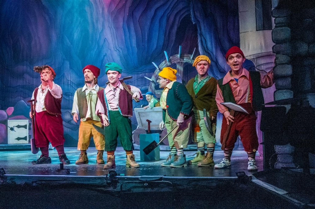 Snow White and the Seven Dwarfs, Fairfield Halls, Gareth Gates,