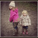 Playing in muddy puddles, again.