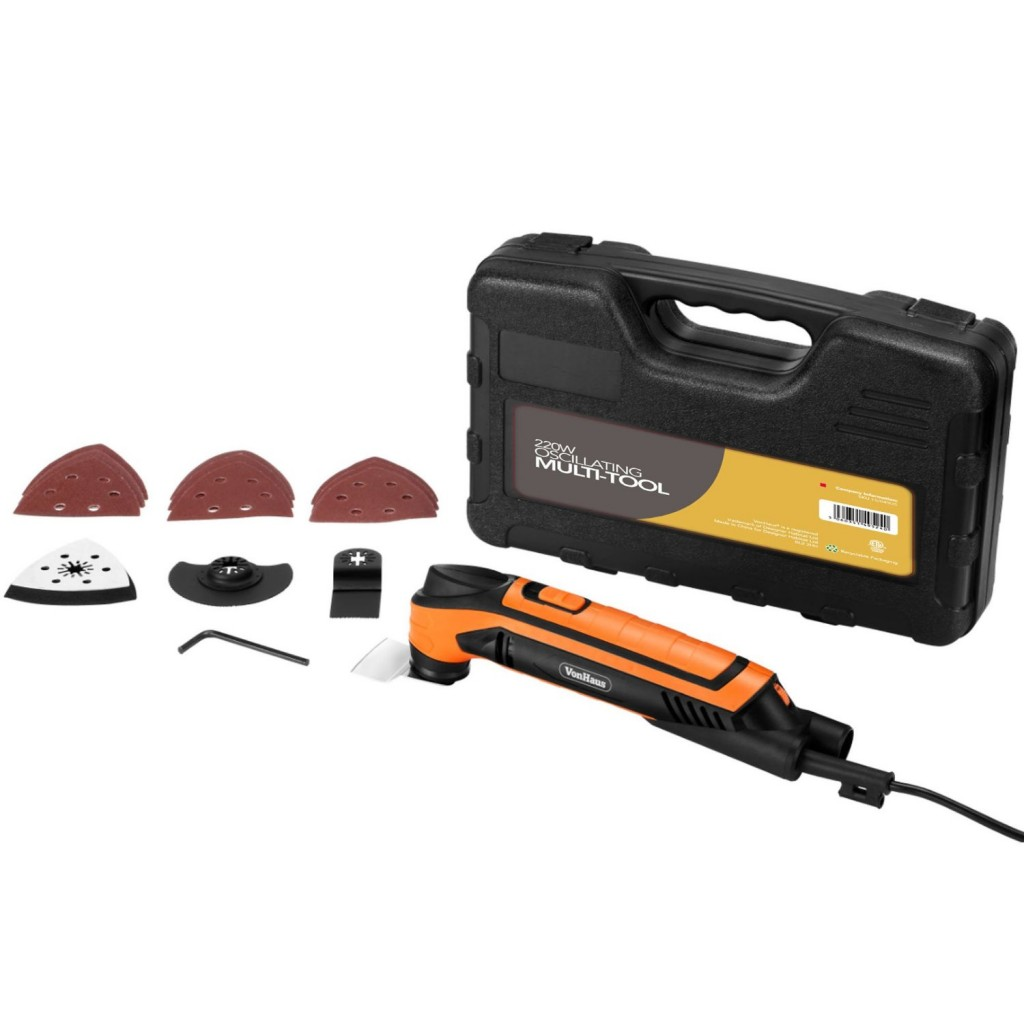 VonHaus, oscillating tool, power tool, multi-tool, DIY
