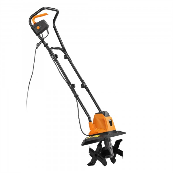 Review VonHaus 1050w electric garden tiller Dad Blog UK