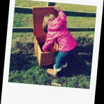 Collecting eggs #CountryKids
