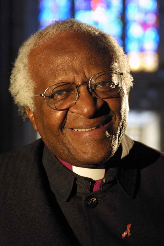 23andMe, genetic test, Archbishop Desmond Tutu