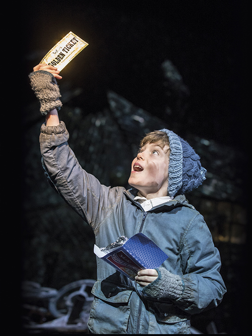 Golden ticket, Charlie and the CHocloate Factory, Theatre Royal Drury Lane, Roald Dahl
