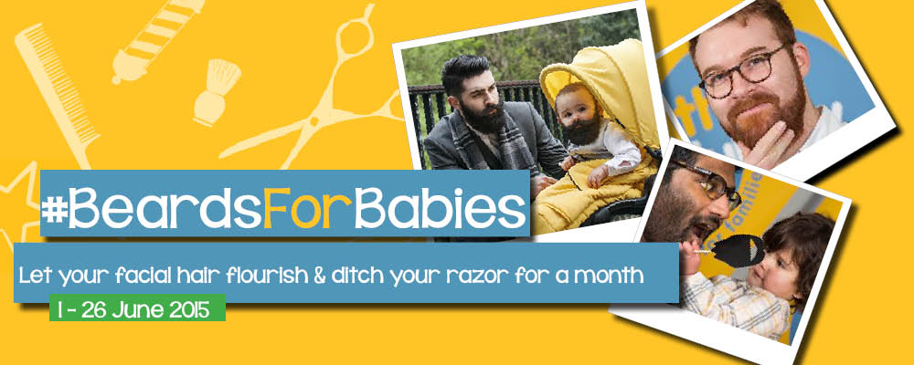 Beards for Babies, Lullaby Trust, SIDS, Sudden Infant Death Syndrome