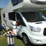 Camping in the luxury of a motorhome