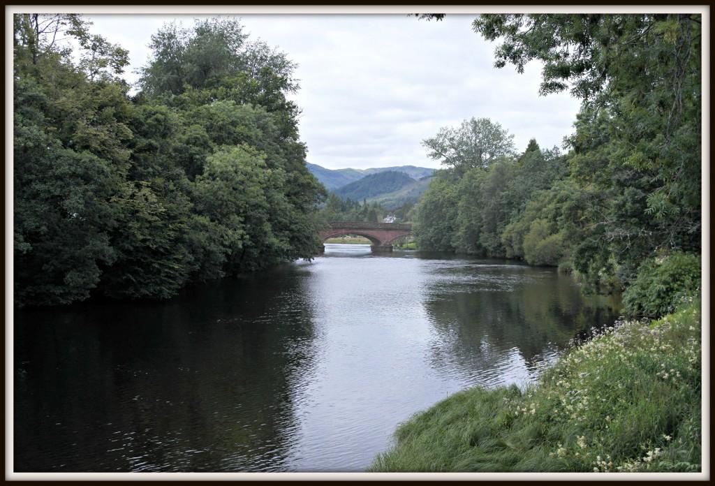 Scotland, Stirling, Callander, Teith, Trossachs