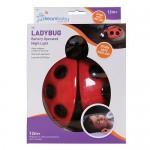 Dreambaby Ladybug Battery Operated Night Light