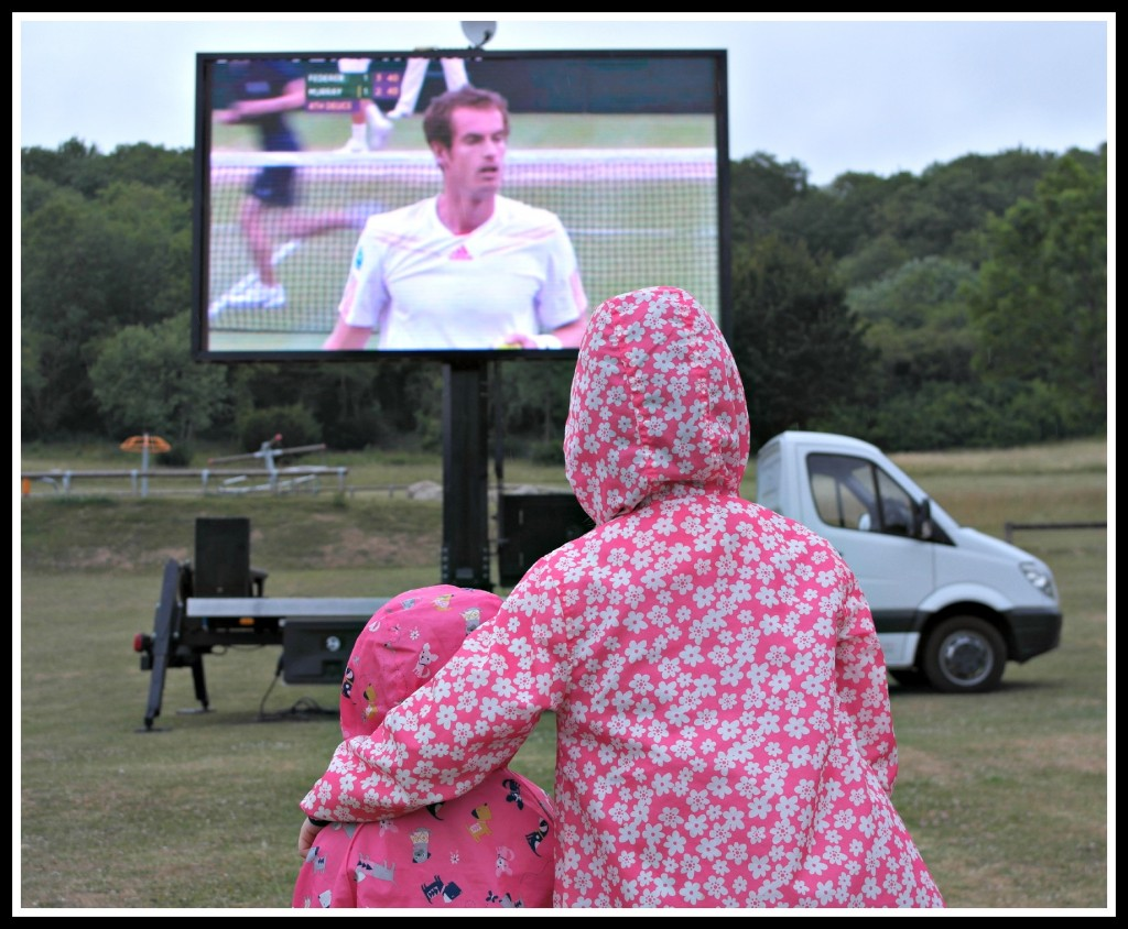Wimbledon, Andy Murray, tain, tennis, big screen