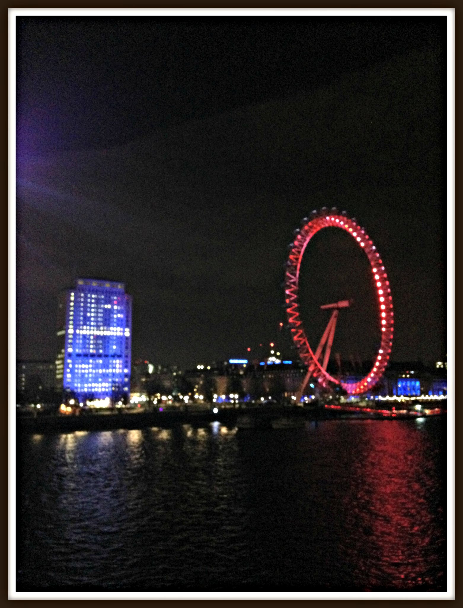 Another London night-time scene