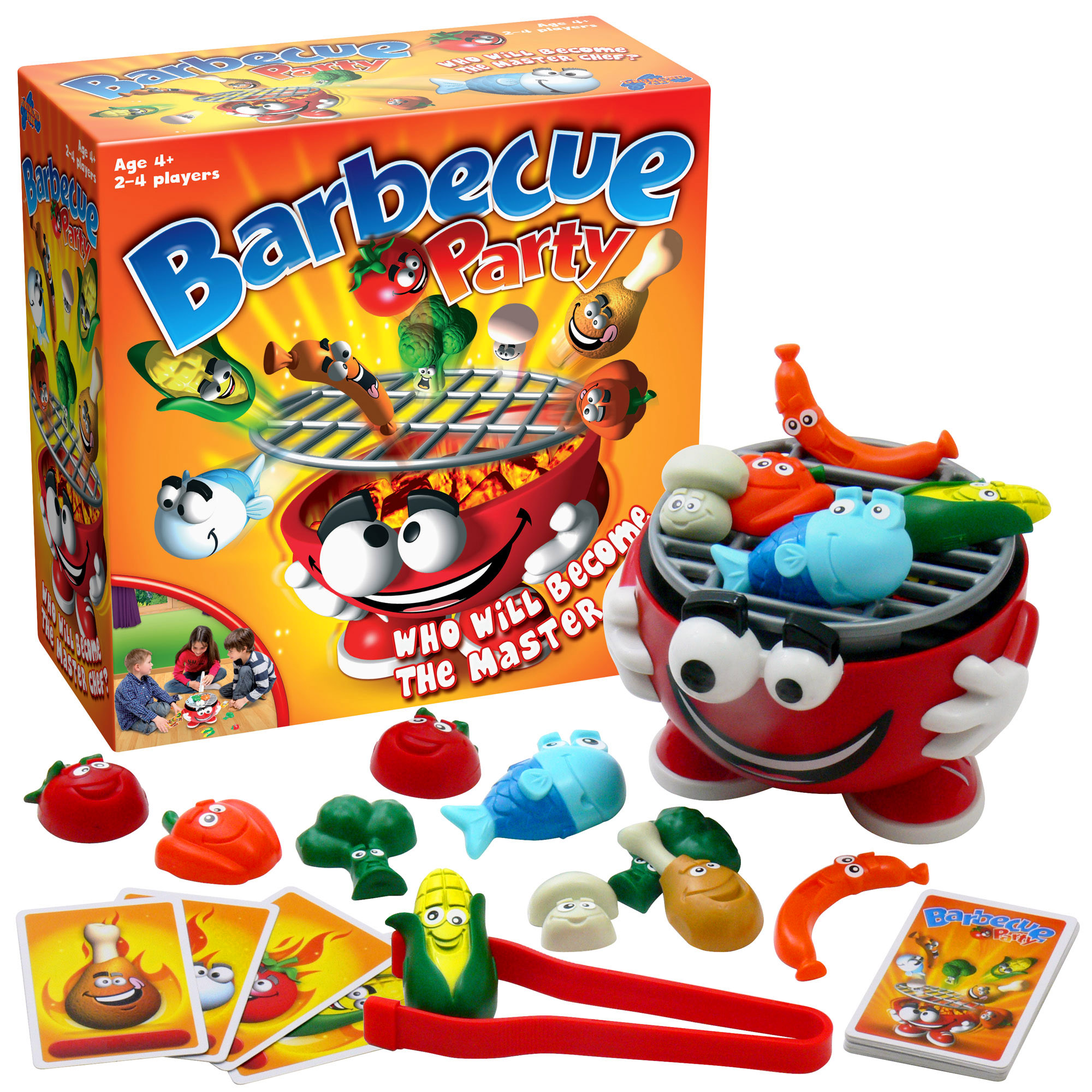 Barbecue Party board game; review and giveaway