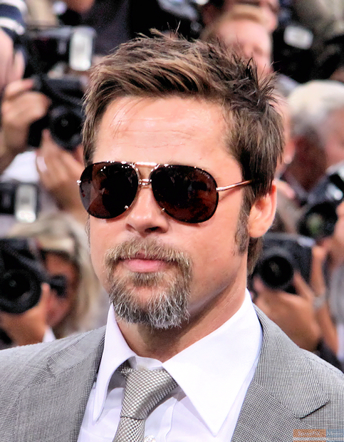 Brad Pitt, stay at home dad