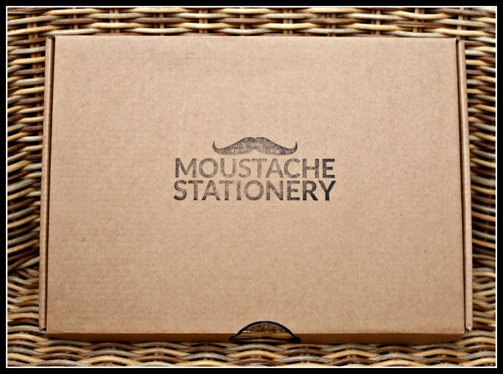 Moustache Stationery, stationery, subscription box