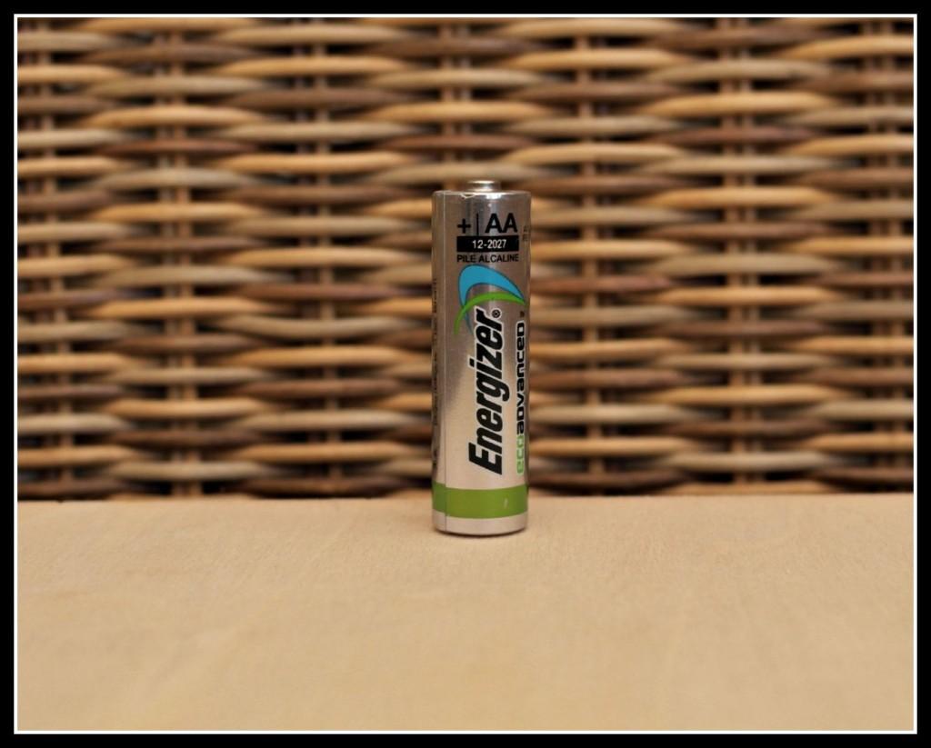 Energizer battery, EcoAdvanced