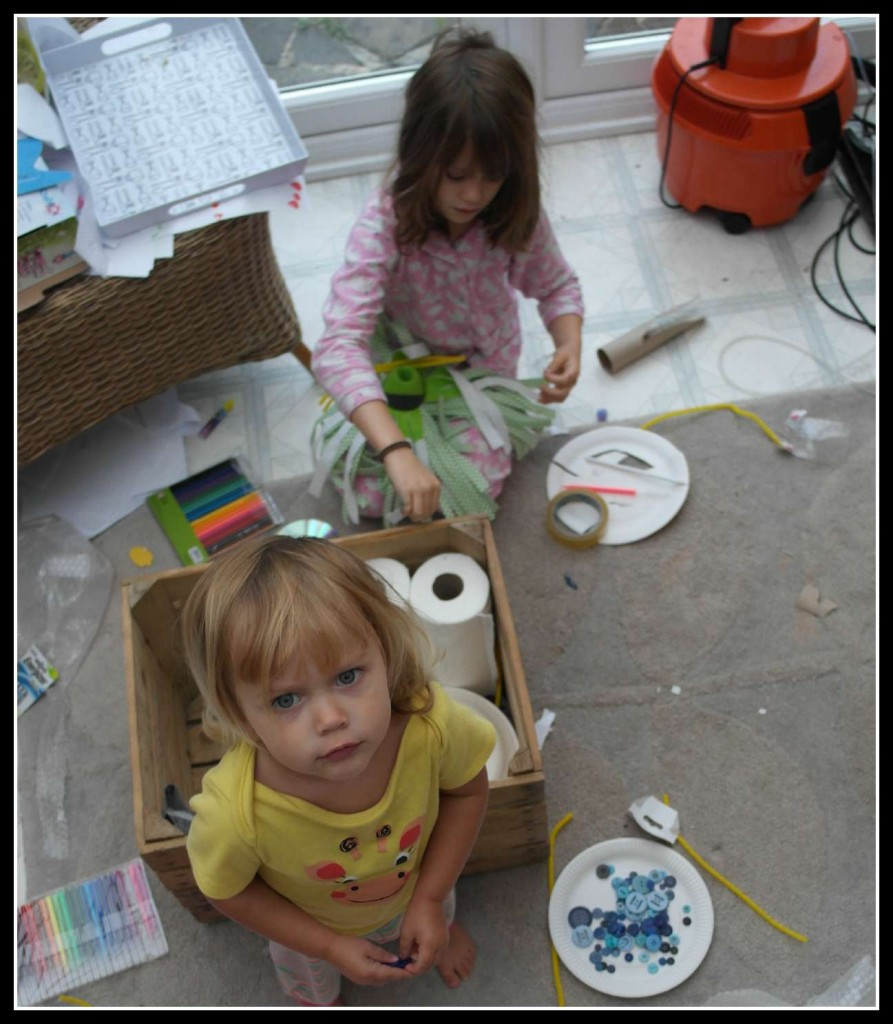 Energizer Re-Imagination Challange, arts and crafts, family.
