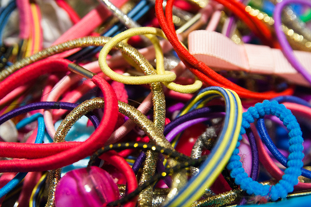 Hair bands; where on Earth do they all go?