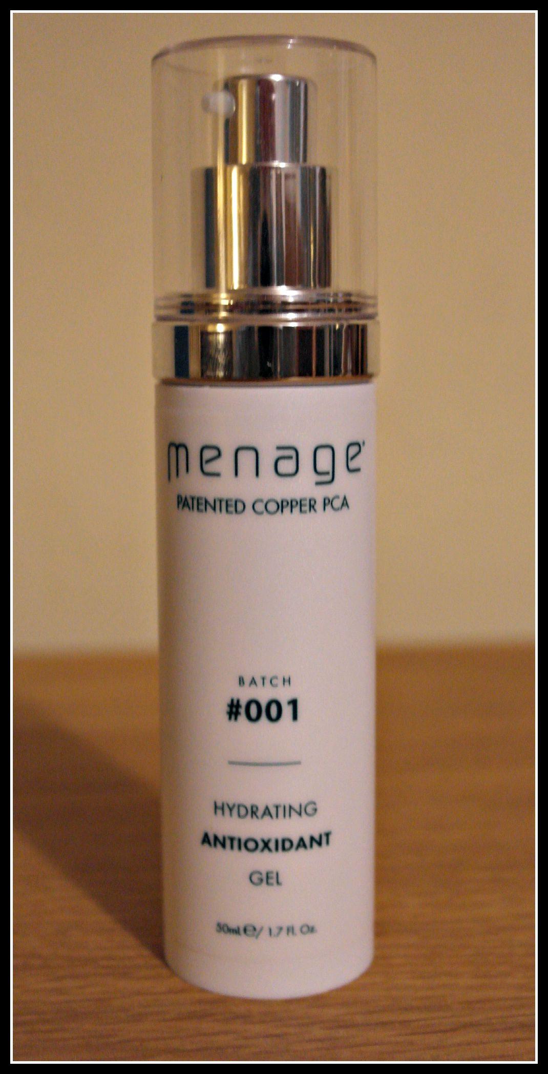 Menage moisturiser for men Batch #001