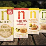 Nairn's oatcakes; our new favourite food