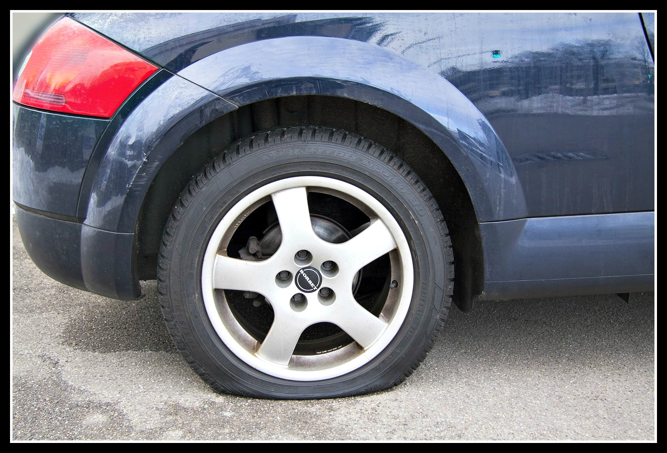 How a flat tyre can mess up the school run