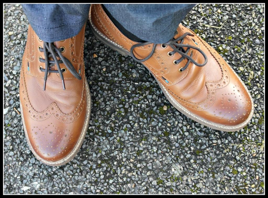 brogues shoe, men's shoes, White STuff, Hidden Havens, #HiddenHavens