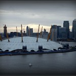 View from the Emirates Air Line cable car