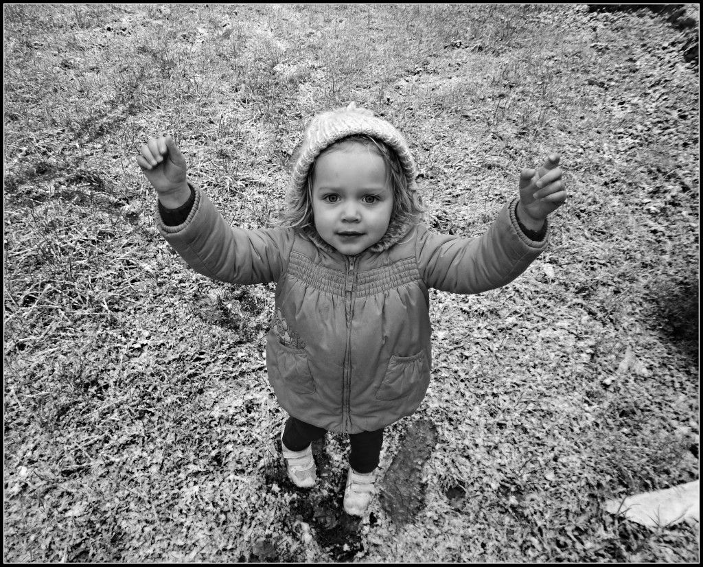 snow, toddler, outdoors play, November,