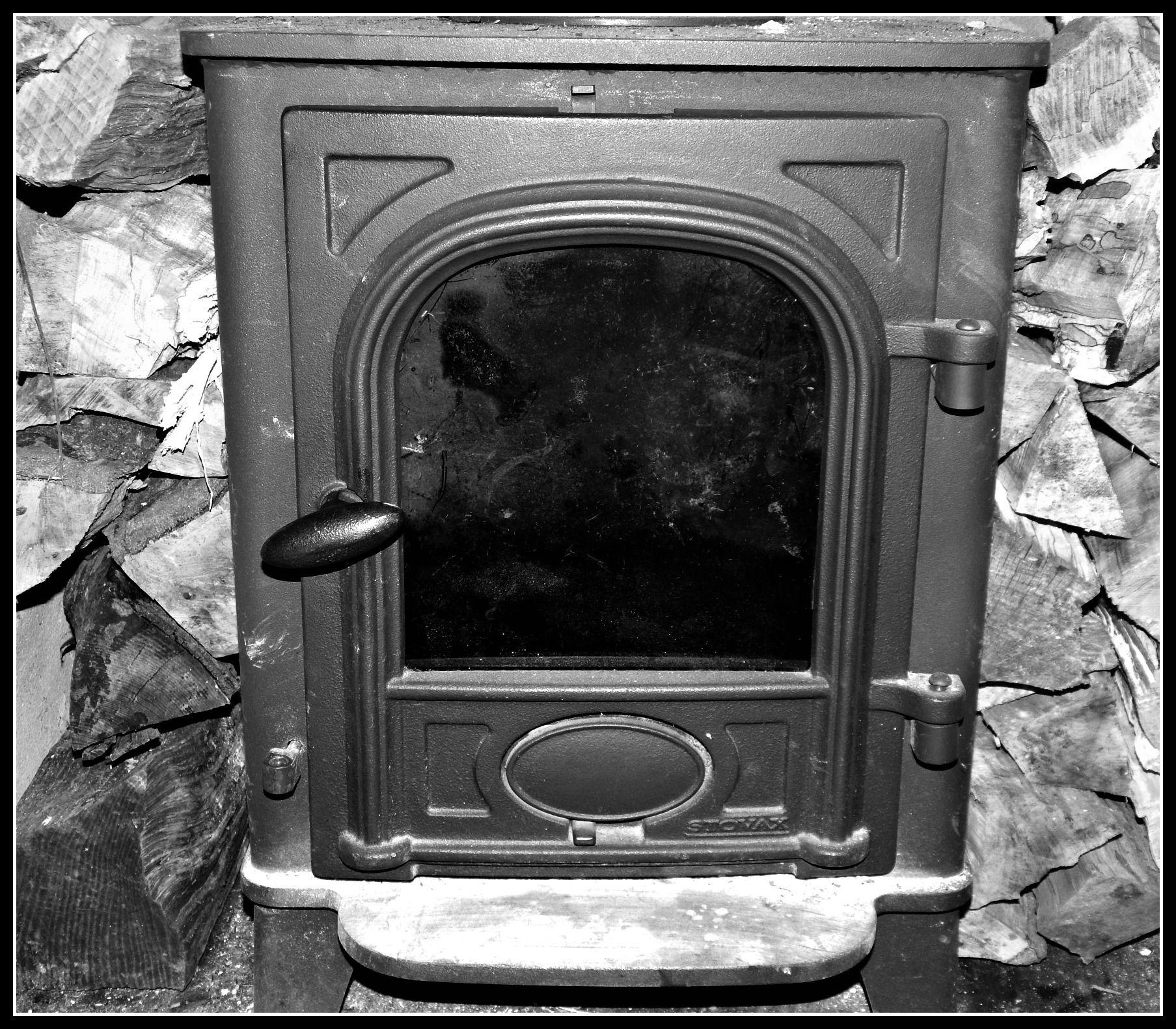 How a wood burning stove has made me reflective