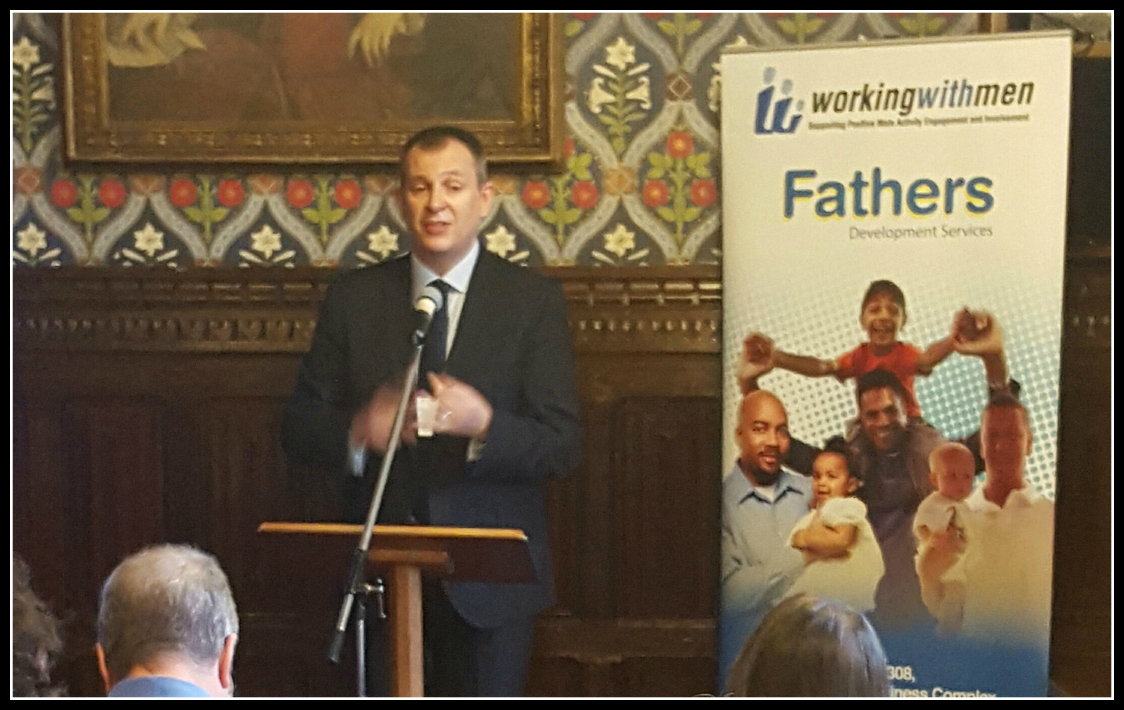 The relaunched All Party Parliamentary Group on Fatherhood