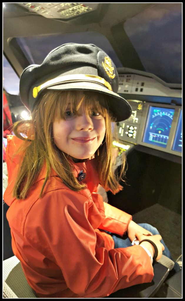 EMirates Aviation Experience, days out, London, days out with children