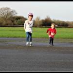 A running race